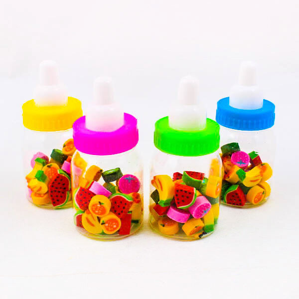 Super Cute Mix Style Eraser Rubber Feeding Bottle Stationery Kid Toy Gift A0158