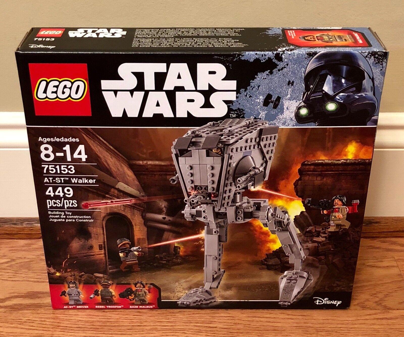 LEGO Star Wars AT-ST Walker 75153, Brand New - Retired Retired Retired  d7fded