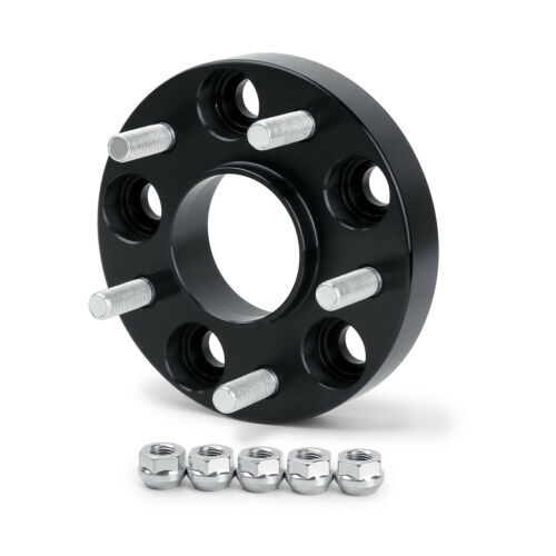 """2PC 25mm Hubcentric Wheel Spacers 5x114.3 66.1 12x1.25 Fit For Infiniti G35 1/"""""""