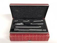 Starrett 823az No 823 Mechanical Tubular Inside Micrometer Set 1 12 8