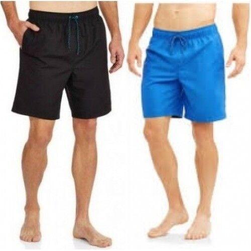 8ea1cbc86f Men's Faded Glory Swim Trunks Shorts Summer Swimming Above the Knee ...