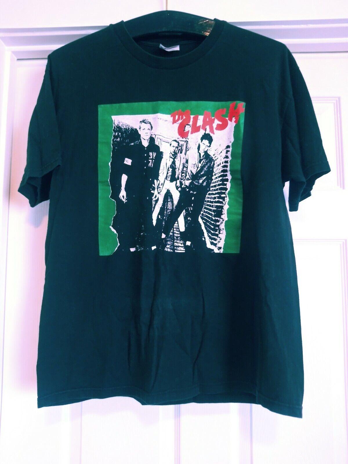 Rare 1st LP Cover The Clash 90s Vintage T-Shirt  … - image 3