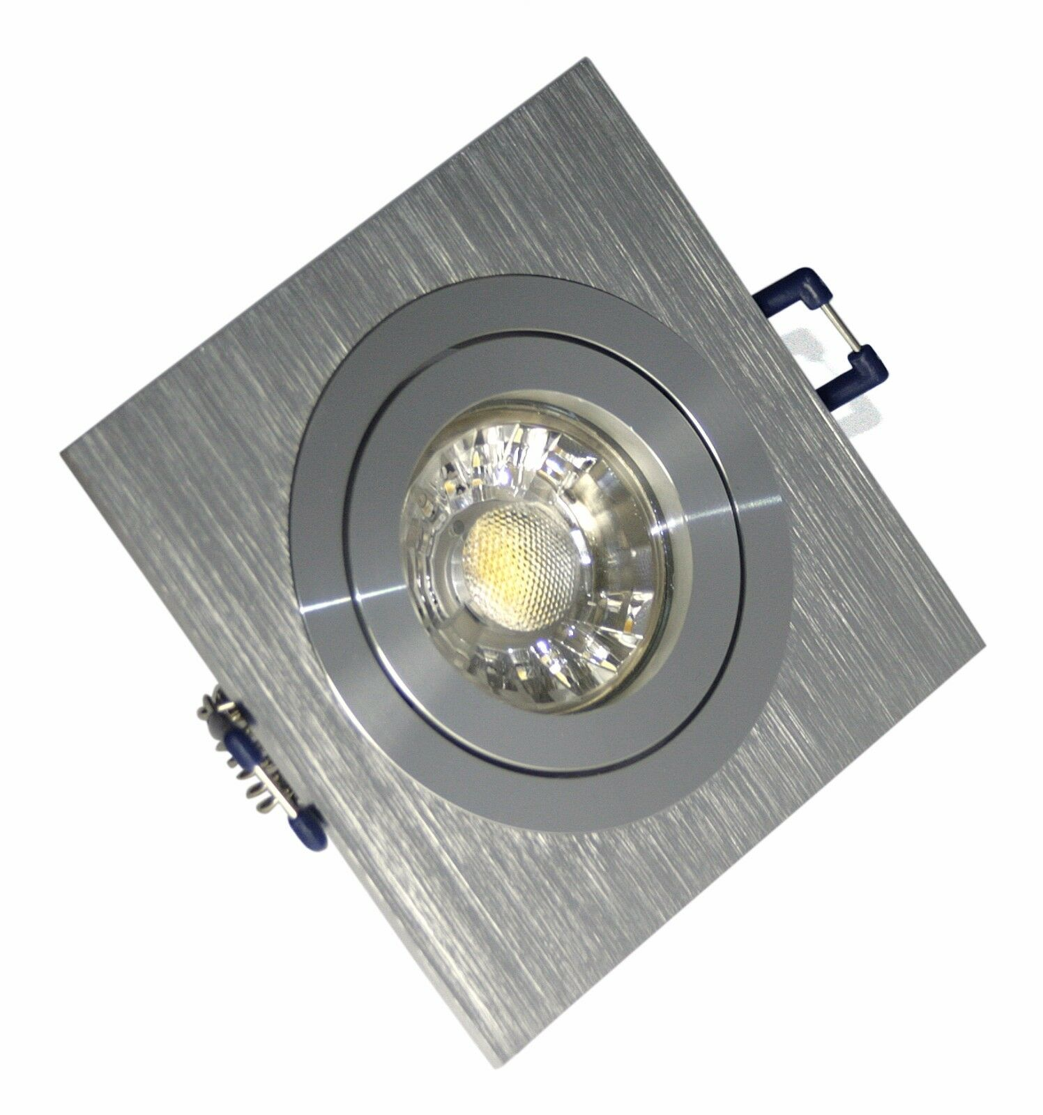 KAMILUX® Einbaustrahler L1 Sets 7Watt schwenkbar 230Volt warmweiss 530Lumen Spot