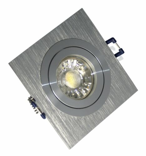 GU10 LED 5W DIMMBAR Strahler Einbaustrahler KANTO Einbauspot Eckige Einbaurahmen