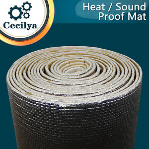 Heat-Insulation-Proof-Mat-Underfelt-Deadening-Sound-Proofing-Silencer-20cmX100cm