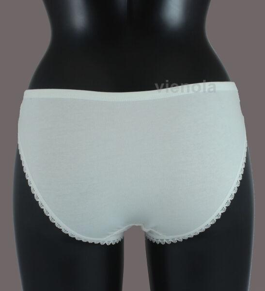 5er Pack Damen Slips Unterhosen Unterwäsche mit Spitze Pastel Farben D104