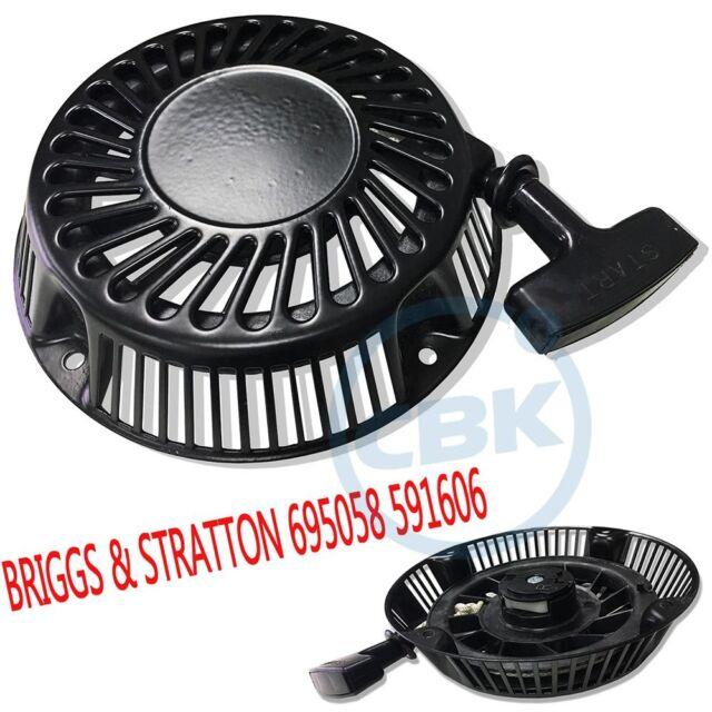 Recoil Rewind Starter Briggs /& Stratton 695058 591606