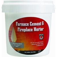 1/2 Gallon Furnace Cement For Fireplaces