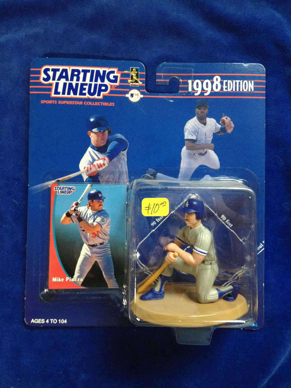 Mike Starting Piazza - 1998 MLB Baseball Starting Mike Lineup action figure DODGERS 981145