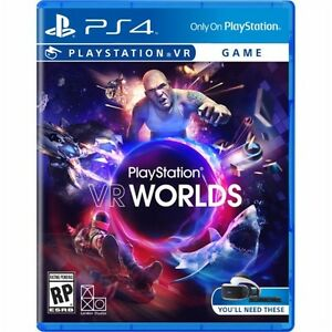 Ps4 Vr Worlds Virtual Reality New Sealed Region Free Usa Game Plays