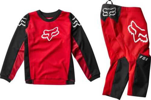 New 2020 Fox Racing Kid/'s 180 Prix Jersey /& Pant Combo Flame Red All Sizes MX