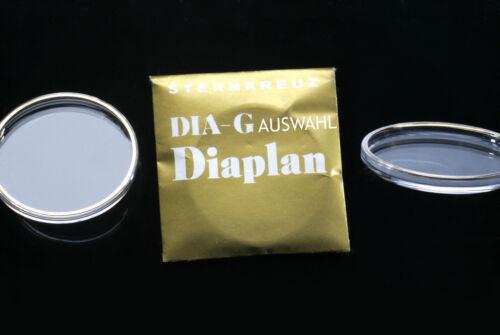 Kunststoff-UHRENGLAS für AU diaplan GOLD armiert 16-35 mm Durchmesser AUSWAHL