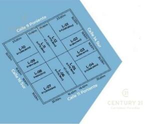 Terreno 773 m2 a la venta en la Región 15 Tulum P3324