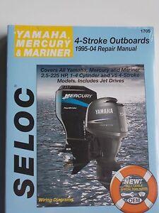 Yamaha four stroke outboard repair manual 1995 2004 2 5 for Yamaha 90hp 2 stroke service manual