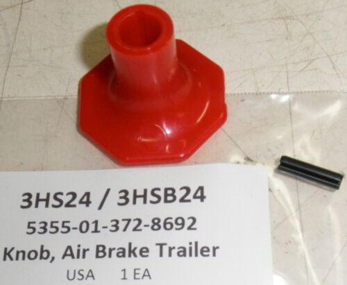 Oshkosh FMTV Trailer Air Supply Knob 2HP883 3HS24 3HSB24 5355-01-372-8692