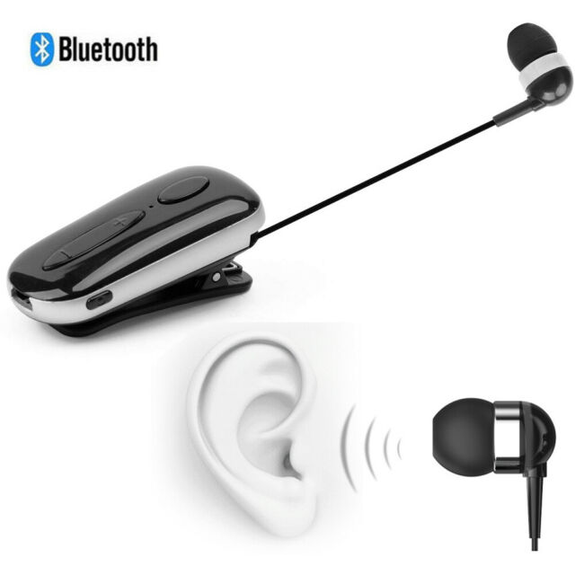 Handsfree Bluetooth Headset Wireless Earphone With Clip For Iphone Samsung Lg For Sale Online