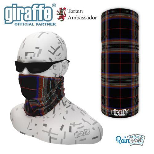 Peat Scottish Tartan Multifunctional Headwear Neckwarmer Snood Bandana Tube