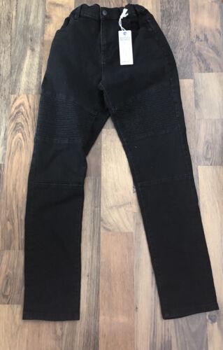 M/&s Filles Noir Jeans 12-13 ans entièrement neuf avec étiquette