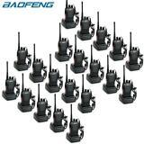 20x Pack - Baofeng BF-888S Two Way Ham Radios UHF 400-470Mhz 16CH 5W Walkie Talkies