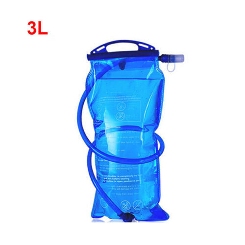 1L-2L-3L Water Bladder Backpack Hydration System Pack Bag Camping Hiking Outdoor