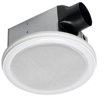 Exhaust Fan Bluetooth Stereo Speakers Bathroom Decorative