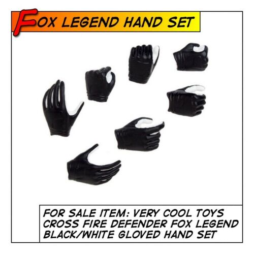 for 1//6 12 in scale Toys VeryCool Hot CrossFire Defender of Fox Hand Set 7pc