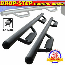 For 05 21 Toyota Tacoma Double Cab Running Boards Side Step Nerf Bar Hoop