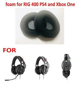 Details about PLANTRONICS Xbox One Headset - Replacement foam for Rig 400HX  ONLY FOAM US NEW