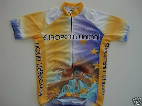 New EUROPEAN UNION Team Cycling  Europe Jersey Medium  M  order now lowest prices