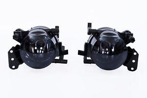 2x-Schwarzglas-Nebelscheinwerfer-Smoke-Satz-Links-Rechts-fuer-BMW-5er-E60-E61