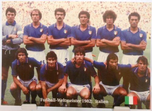 Italien Das Finale Fußball Weltmeister 1982 Fan Big Card Edition A31 +
