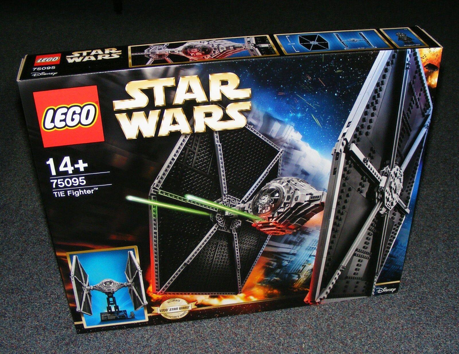 Estrella guerras LEGO 75095 Tie combatiente UCS ULTIMATE  DA COLLEZIONE SERIE NUOVO SIGILLATO  moda classica