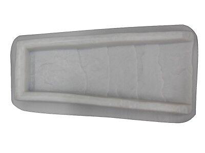 Slate Look Downspout Splash Guard Concrete Cement Mold