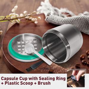 2-GEN-Stainless-Steel-Refillable-Reusable-Coffee-Capsule-Pod-For-Nespresso-Maker