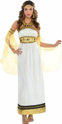 Greek Roman Goddess Toga Womens Fancy Dress Costume Outfit Ladies Adult