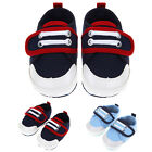 Infant Baby Boys Girls Soft Sole Sneakers Crib Shoes Size Newborn to 18 Months
