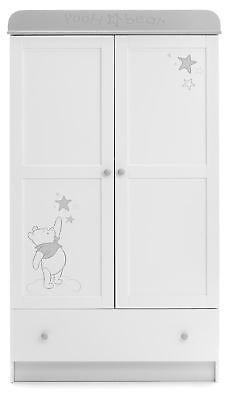 Obaby Winnie The Pooh Doppio Guardaroba Baby Nursery Furniture Sogni Desideri Bn-mostra Il Titolo Originale Dolorante