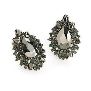 ideas black diamonds earrings on best diamond pinterest