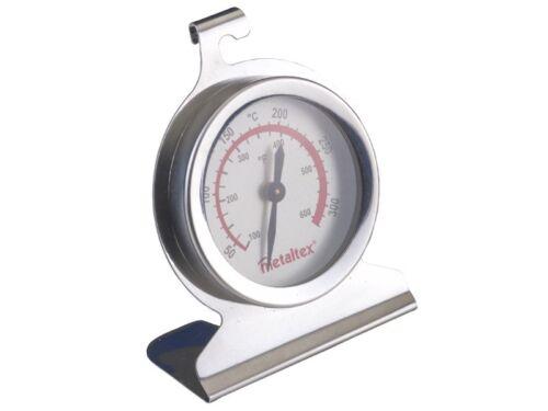 Metaltex® BACKOFEN THERMOMETER 320° C EDELSTAHL TERMOMETER Backofenthermometer