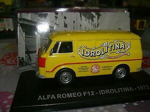 SERIE ITALIE ALFA ROMEO F12 IDROLITINA 1972