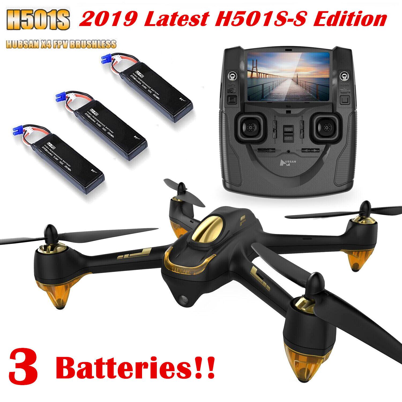 Hubsan X4 H501S S  RC Quadcopter 5.8G FPV Brushless 1080P HD Follow Me GPS RTF US  ultimi stili