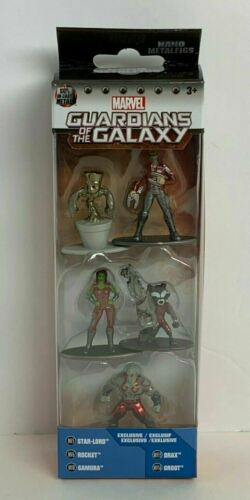 Marvel Guardians of the Galaxy Pack exclusif B figurines//jouets 5 ct