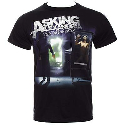 Asking Alexandria T-shirt Ladies From Death To Destiny Official Merchandise