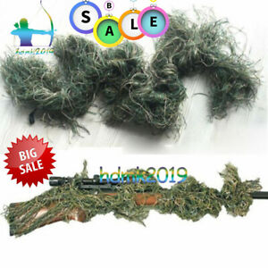 WOODLANDS-3D-CAMOUFLAGE-RIFLE-COVER-GHILLIE-WRAP-SNIPER-HUNTING-PAINTBALL