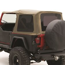 Smittybilt 9870217 Replacement Soft Top Fits 87 95 Wrangler Yj Fits 1994 Jeep Wrangler