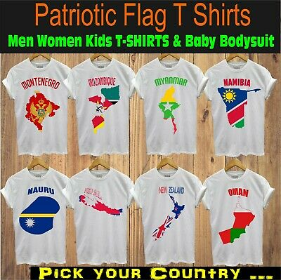 National Flag Iron On T-Shirt Transfer Print Mozambique