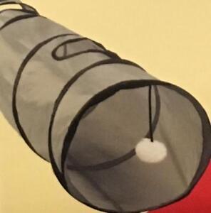 Gato-pop-up-tunel-del-Tunel-Mascota-Plegable-Tubo-2-agujeros-de-puerto-del-tunel-Juguete-de