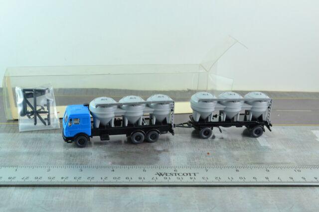 1:87 HO Scale Wiking Silo Truck w// Trailer