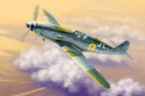 Trumpeter 02299 1 32 Messerschmitt Bf 109K-4 Fighter Warplane Aircraft Model Kit