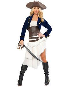 71489d8e178 Détails sur Costume de Pirate Boucanier Corsair pour Femme Halloween  Carnaval (O28048)